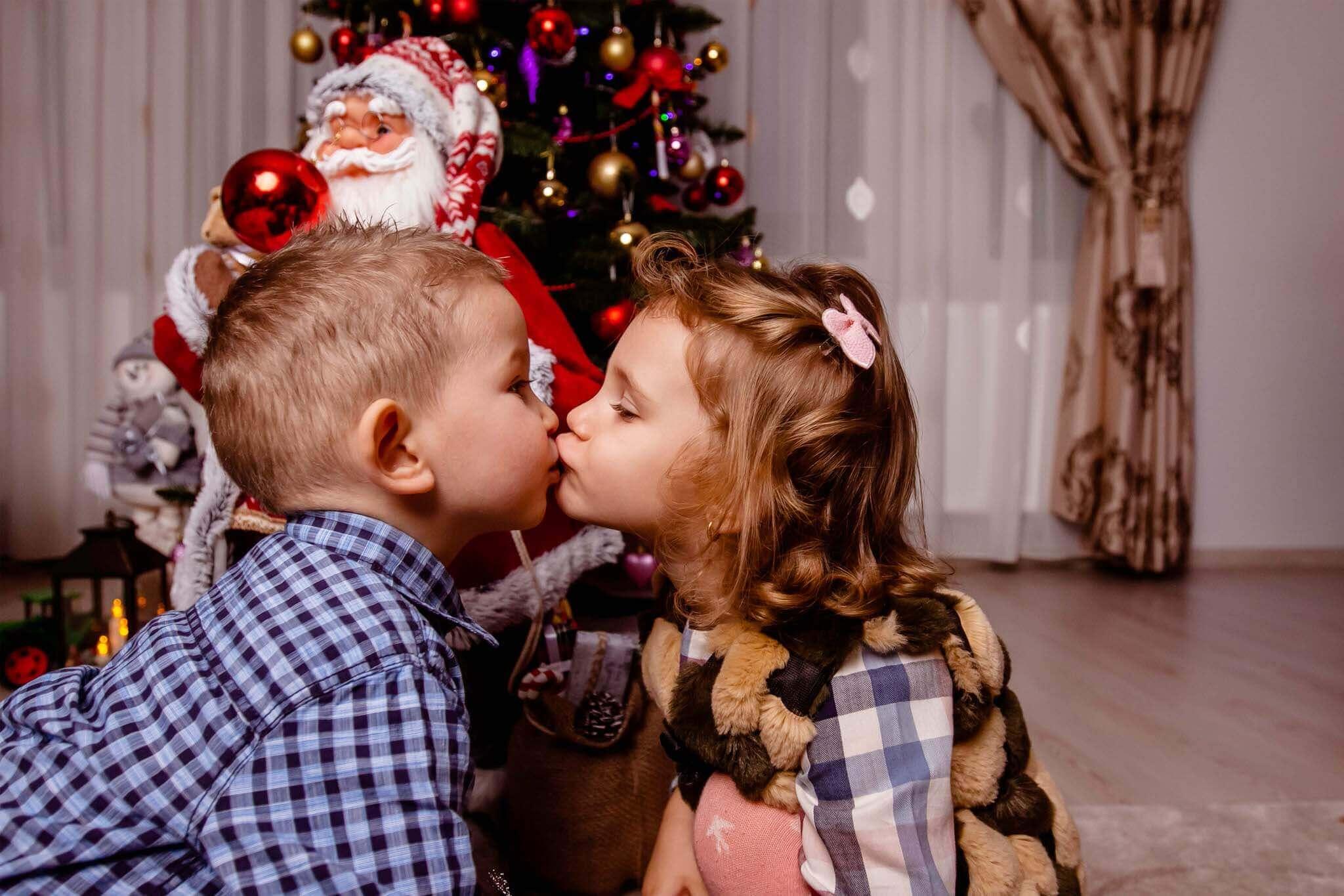 ședință foto de Crăciun